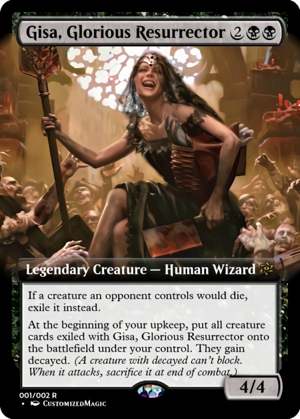 Gisa Glorious Resurrector - Magic the Gathering Proxy Cards