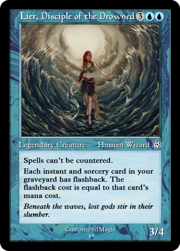 Lier Disciple of the Drowned.2 - Magic the Gathering Proxy Cards