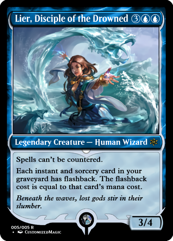 Lier Disciple of the Drowned.4 - Magic the Gathering Proxy Cards