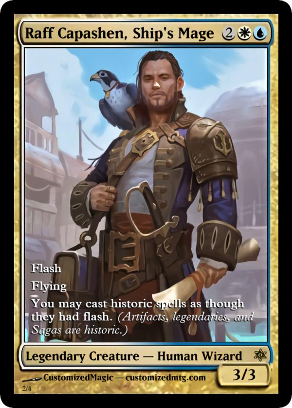 Raff Capashen Ships Mage.1 - Magic the Gathering Proxy Cards