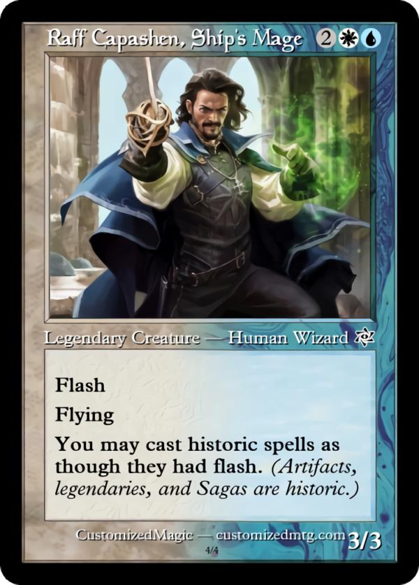 Raff Capashen Ships Mage.3 - Magic the Gathering Proxy Cards