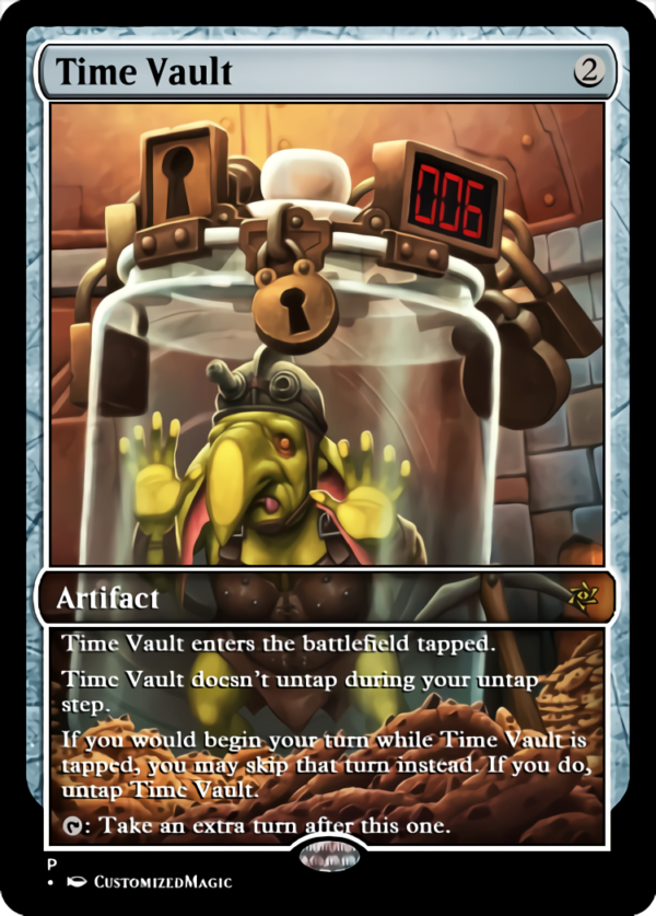 Time Vault - Magic the Gathering Proxy Cards