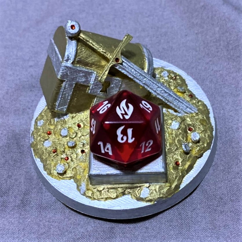 Treasure Token Counter
