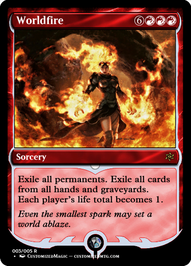 Worldfire.2 - Magic the Gathering Proxy Cards