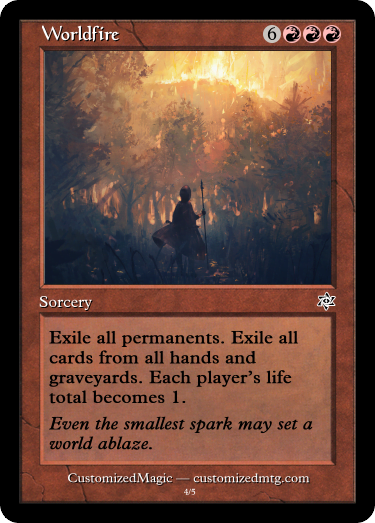 Worldfire.3 - Magic the Gathering Proxy Cards