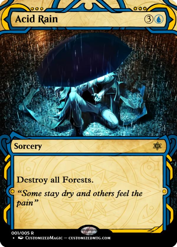Acid Rain - Magic the Gathering Proxy Cards