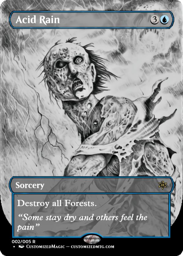 Acid Rain.1 - Magic the Gathering Proxy Cards