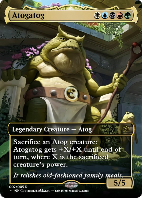 Atogatog.1 - Magic the Gathering Proxy Cards