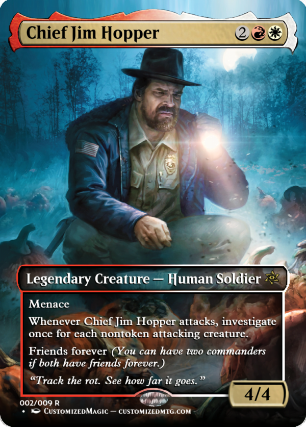 Chief Jim Hopper - Magic the Gathering Proxy Cards