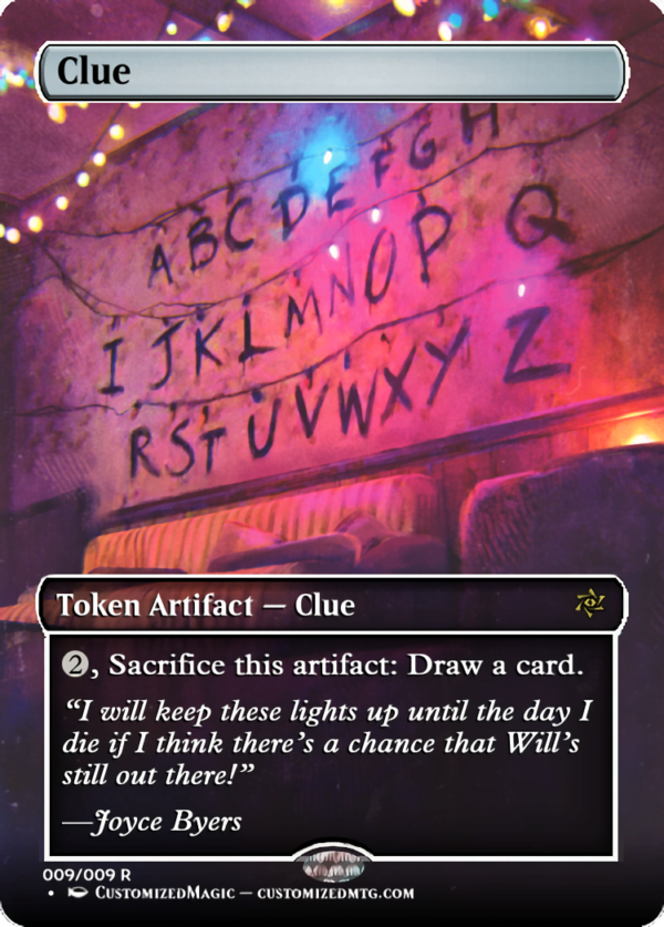 Clue - Magic the Gathering Proxy Cards