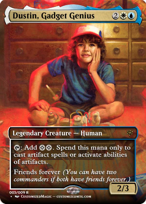 Dustin Gadget Genius - Magic the Gathering Proxy Cards