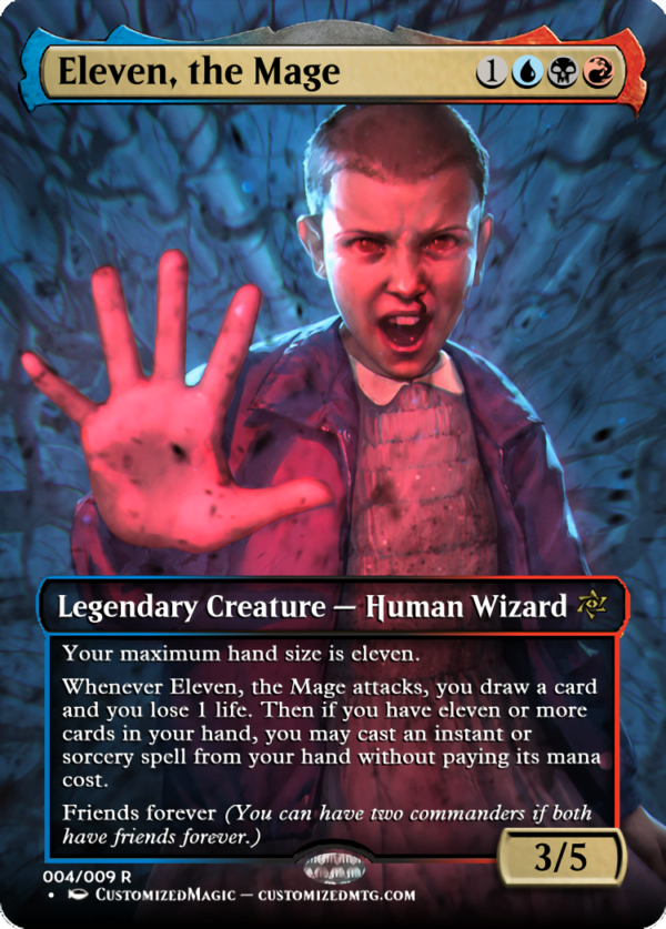Eleven the Mage - Magic the Gathering Proxy Cards