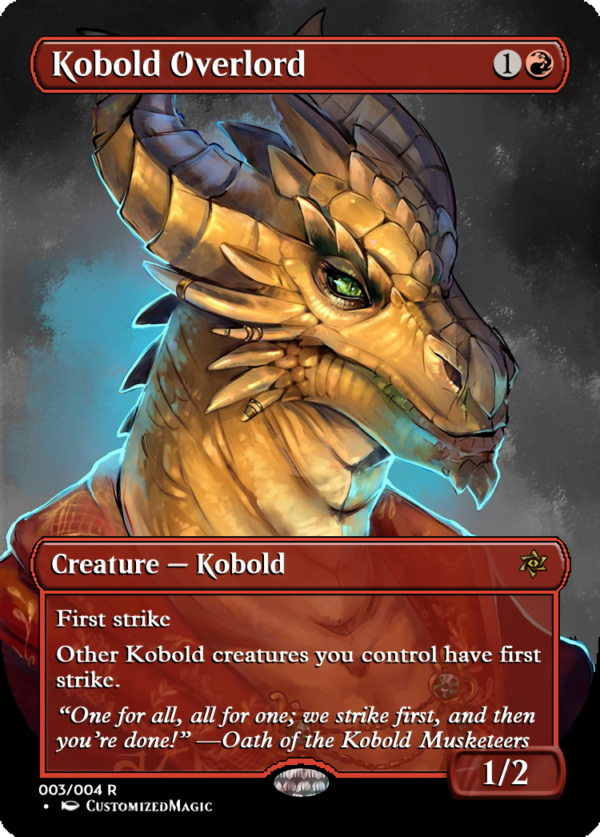 Kobold Overlord.2 - Magic the Gathering Proxy Cards