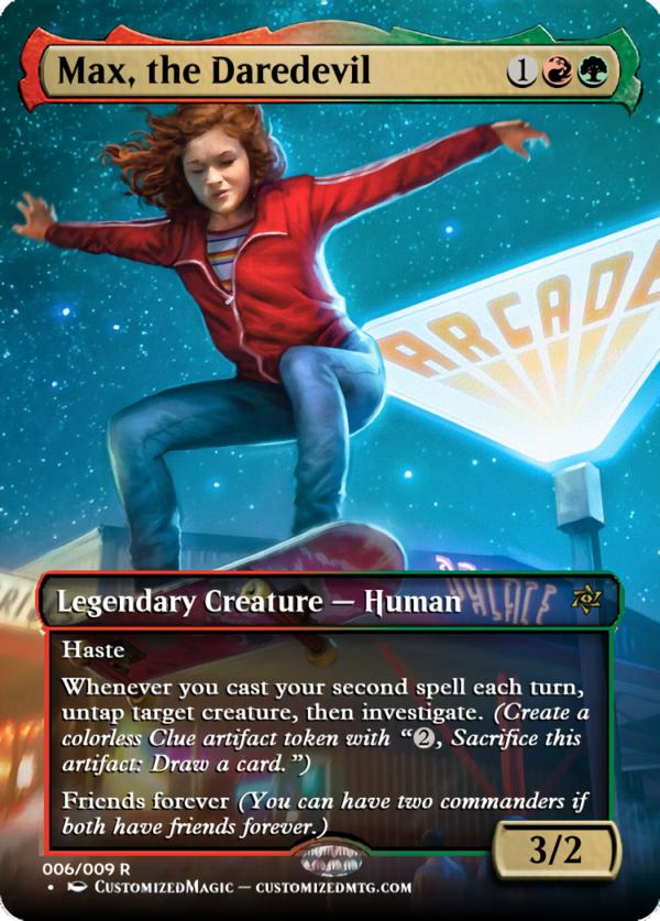Max the Daredevil - Magic the Gathering Proxy Cards