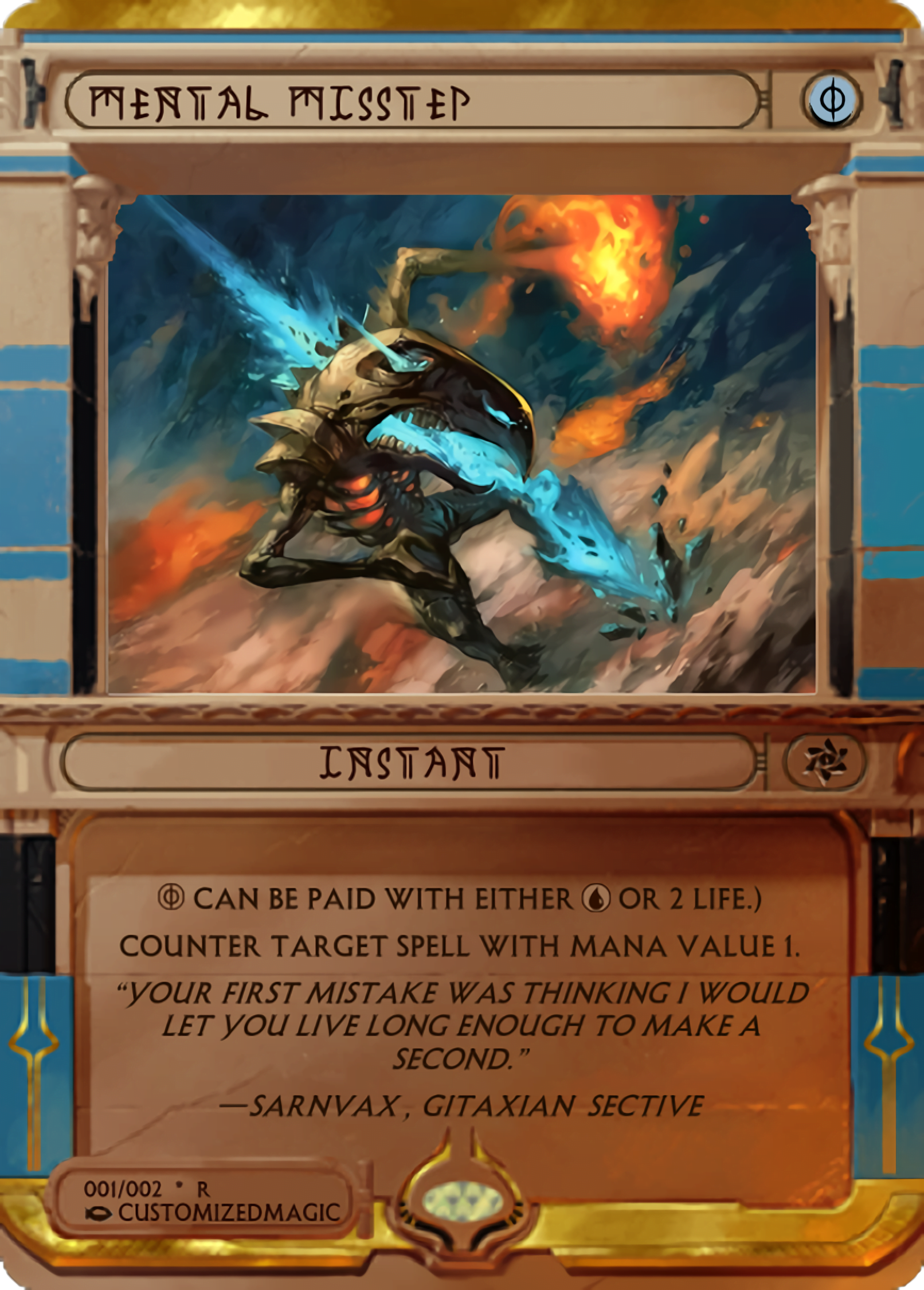 Mental Misstep - Magic the Gathering Proxy Cards