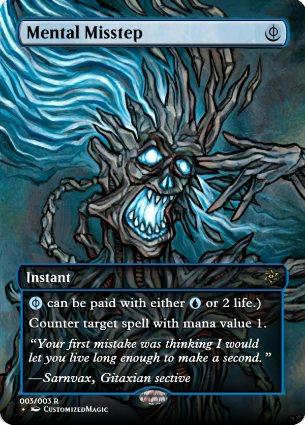 Mental Misstep 3 - Magic the Gathering Proxy Cards