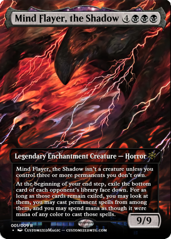 Mind Flayer the Shadow - Magic the Gathering Proxy Cards
