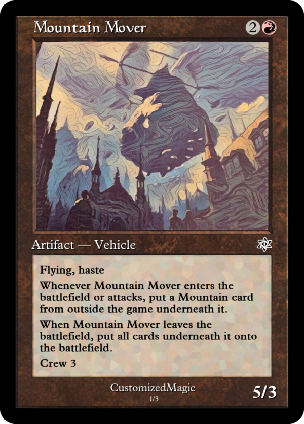 Mountain Mover - Magic the Gathering Proxy Cards